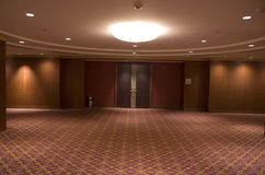 Hotel lobby interiors design royalty free stock photo