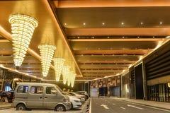 Hotel  lobby Led ceiling lighting Royalty Free Stock Photo