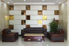 The hotel lobby lounge area Stock Photography