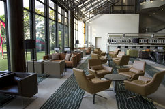 Hotel lobby lounge bar royalty free stock photography