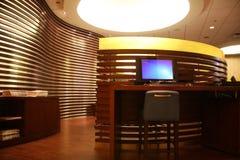 Hotel lobby interior  Stock Images