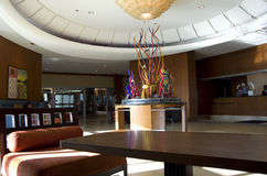 Hotel lobby of Seattle Marriott Waterfront Royalty Free Stock Image