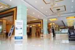 The hotel lobby Royalty Free Stock Image
