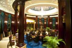 Hotel lobby. Shot of a hotel lobby,which taken in a chinese hotel Stock Photo