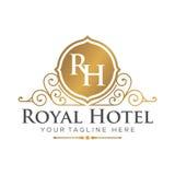 Hotel Logo Template Foto de archivo libre de regalías