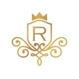 Hotel Logo Template Imagen de archivo libre de regalías