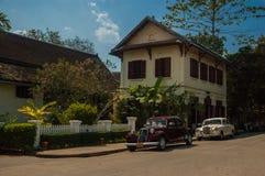 Hotel Luang Prabang, Laos mit 3 Nagas Lizenzfreie Stockbilder