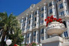 Hotel lujoso en Cannes Fotos de archivo