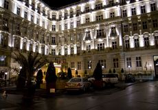 Hotel lussuoso immagine stock