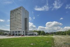 Hotel Lux. At Banska Bystrica, Slovakia Royalty Free Stock Photography