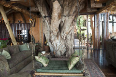 Hotel luxuoso do safari em África fotos de stock royalty free