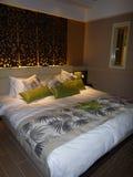 Hotel luxury bedroom Stock Image