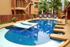 hotel luxury pool spa κολύμβηση Στοκ εικόνες με δικαίωμα ελεύθερης χρήσης