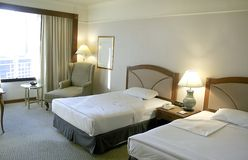 hotel luxury room Στοκ Φωτογραφία