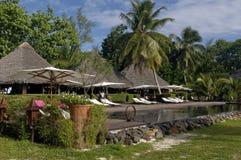 Hotel in Madagaskar Lizenzfreies Stockfoto