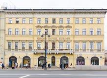 Hotel magnífico Europa, St Petersburg Foto de archivo libre de regalías