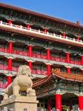 Hotel magnífico Gaoxiong en un día soleado en Gaoxiong, Taiwán Imágenes de archivo libres de regalías