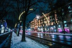 Hotel magnífico Viena Foto de archivo libre de regalías