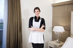 Hotel Maid Royalty Free Stock Photo