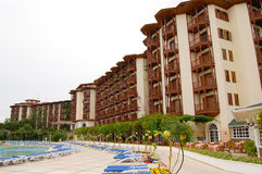 Hotel main building Royalty Free Stock Photography