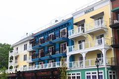 Hotel Maine Acadia Park Stock Photo