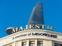 Hotel Majestic in Saigon Stock Images