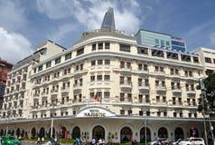 Hotel majestoso Ho Chi Minh City Vietnam Fotografia de Stock Royalty Free