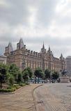 Hotel majestuoso de la calle de la cal en Liverpool Imagen de archivo libre de regalías