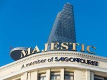 Hotel majestuoso en Saigon Imagenes de archivo