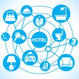 Hotel management concept Royalty Free Stock Photo