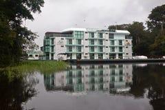 Hotel Manaus Brasil do palácio da selva de Amazon fotografia de stock
