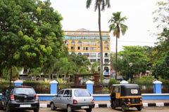 Hotel Manvin`s in Panjim city Royalty Free Stock Image