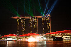 Hotel Marina Bay Sands, Singapore Stock Images
