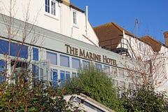 Hotel marinho whitstable Fotografia de Stock Royalty Free