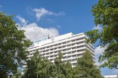 Hotel Maritim nel nde del ¼ di Travemà immagini stock