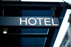 Hotel mark Stock Image