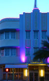 Hotel Marlin in Miami Beach Stock Photos