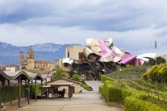 Hotel Marqués de Risca durch Frank Gehry Lizenzfreie Stockfotografie