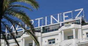 Hotel Martinez Cannes stock video
