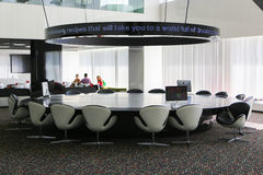 Hotel Meeting Hall Royalty Free Stock Photography