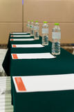 Hotel meeting room Royalty Free Stock Photos