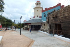 Hotel Melia Cayo Santa Maria - Cuba Fotografie Stock