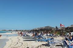 Hotel Melia Cayo Santa Maria - Cuba. Beach at Melia Cayo Santa Maria Most popular resort Royalty Free Stock Photography