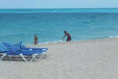 Hotel Melia Cayo Santa Maria - Cuba. Beach at Melia Cayo Santa Maria Most popular resort on Atlantic side Royalty Free Stock Images