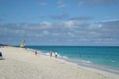 Hotel Melia Cayo Santa Maria - Cuba. Beach at Melia Cayo Santa Maria Most popular resort on Atlantic side Stock Photography