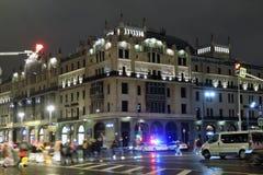 Hotel Metropol, edificio histórico famoso, hotel de lujo y restaurante Imagen de archivo libre de regalías