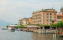 Hotel Metropole - Bellagio. Hotel Metropole is an elegant 19th century hotel on the waterfront of the enchanting Lake Como - Bellagio, Lombardy, Italy, 19 July stock image