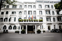 Hotel Metropole Hanoi Stock Photography