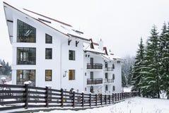 Hotel Miruna, Belvedere novo Poiana Brasov, Romênia fotos de stock royalty free