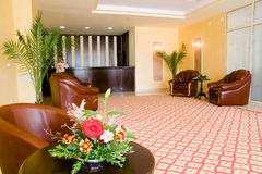 Hotel modern reception Stock Photography